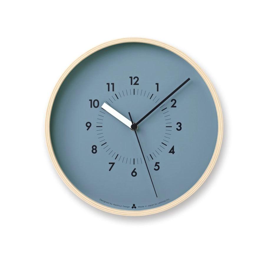 Lemnos SOSO[電波時計]/ ブルー(AWA13-06 BL) ギフト 結婚祝い 新築祝い レムノス