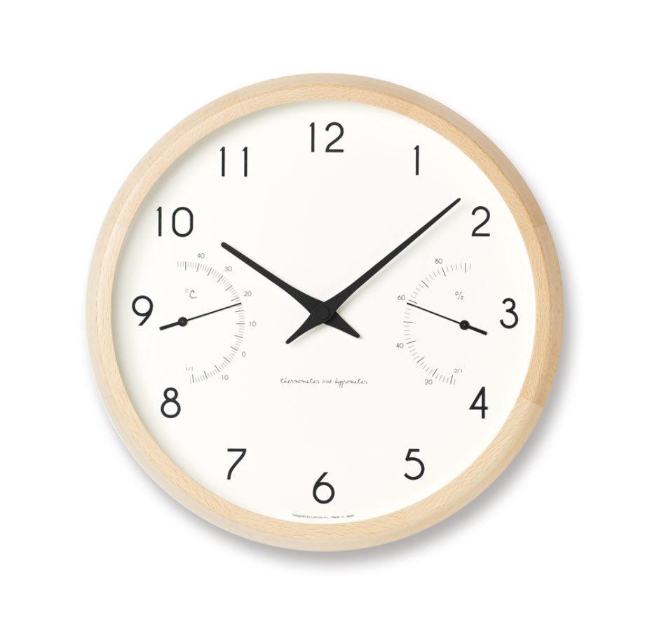 【最大2,000円OFFクーポン】Lemnos Campagne air / ナチュラル(PC17-05 NT)時計 ギフト 結婚祝い 新築祝い レムノス STAYHOME