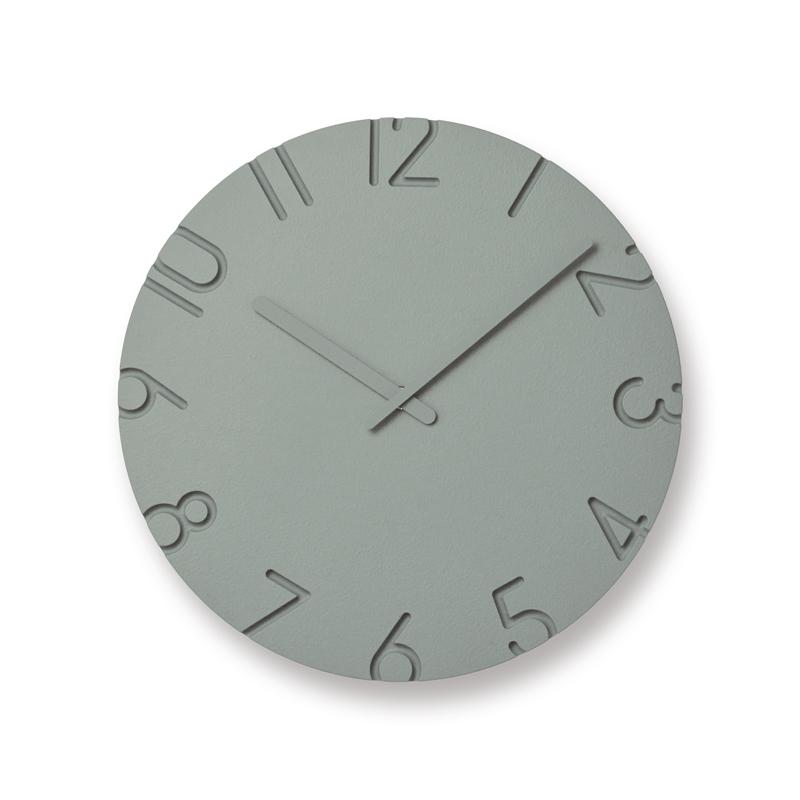 【最大2,000円OFFクーポン】Lemnos CARVED COLORED / グレー(NTL16-07 GY)時計 ギフト 結婚祝い 新築祝い レムノス