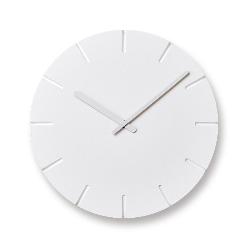 Lemnos CARVED line φ305 NTL10-19 C 時計 ギフト 結婚祝い 新築祝い レムノス