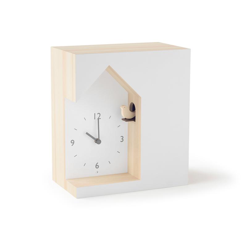 鳩時計 カッコー時計 時計 子供部屋 ギフト 結婚祝い 新築祝い nendo レムノス