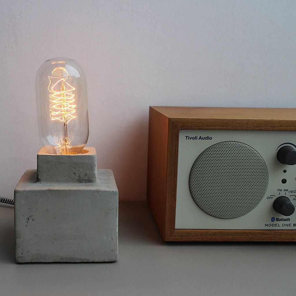 【Roost】Architectural Lamp Small 照明 間接照明 明かり ランプ ギフト プレゼント 贈り物 新築祝い 男前インテリア