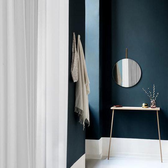 【MOEBE(ムーベ)】WALL MIRROR BRASS 50cm ウォールミラー ブラス  鏡 STAYHOME