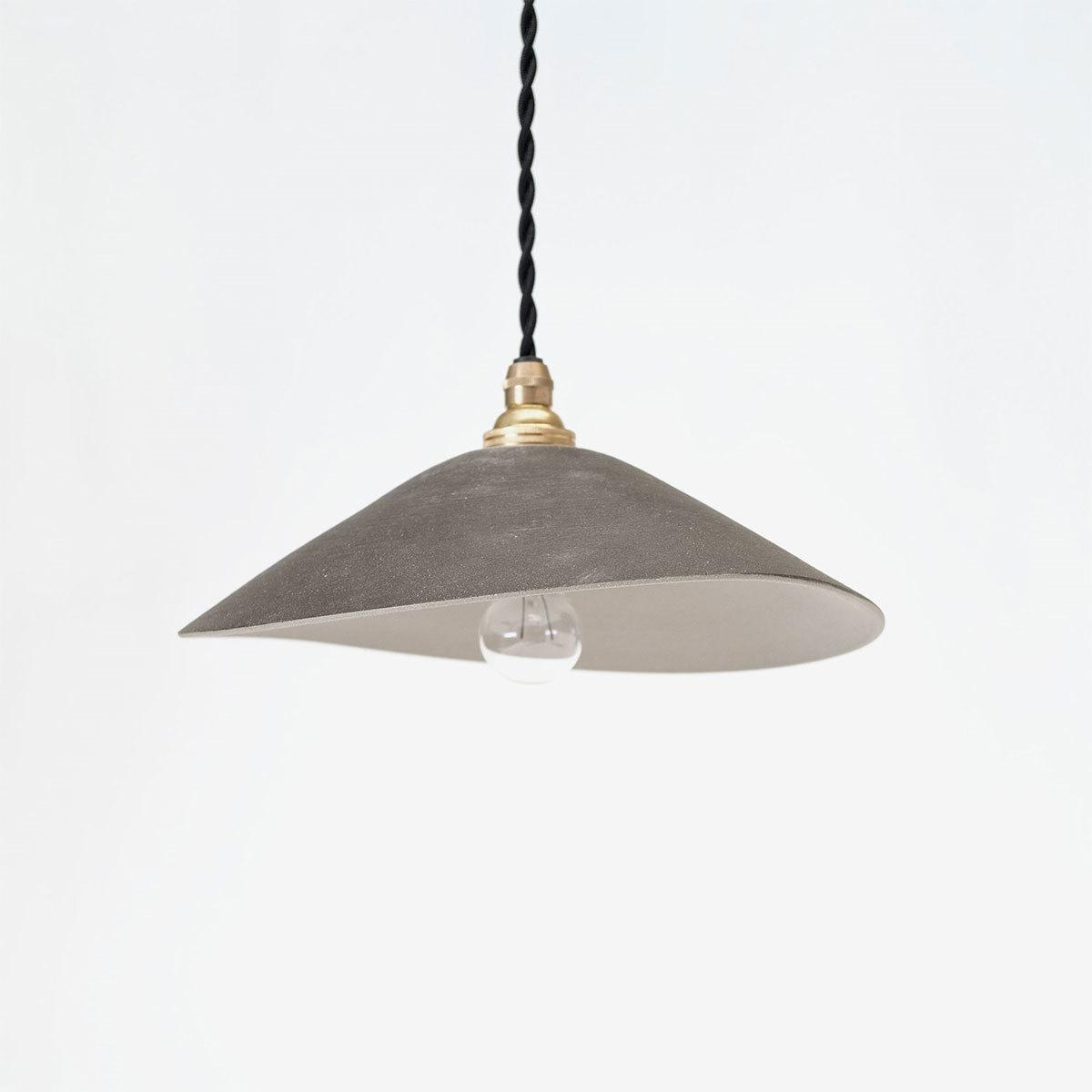 【最大2,000円OFFクーポン】【3RD CERAMICS】Lamp Shade Black照明 ペンダントライト ペンダントランプランプ 灯り 陶器 陶磁器 ブラック