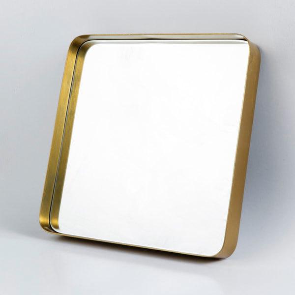 アエナ スクエアミラー ブラス ウォールミラー 鏡 STAYHOME