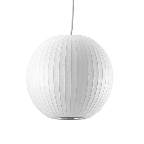 【最大2,000円OFFクーポン】【Herman Miller/ ハーマンミラー】NELSON BALL BUBBLE PENDANT SMALLネルソン ボール バブル ペンダント スモールネルソン・バブルランプ 照明 灯り