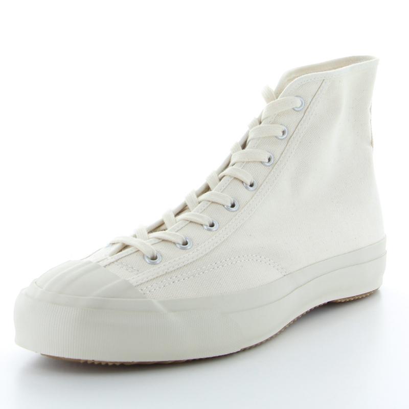 【MOONSTAR FINE VULCANIZED】GYMCLASSIC HI 25cm WHITE/ホワイト スニーカー ハイカット 靴【ムーンスター ファインヴァルカナイズ】○