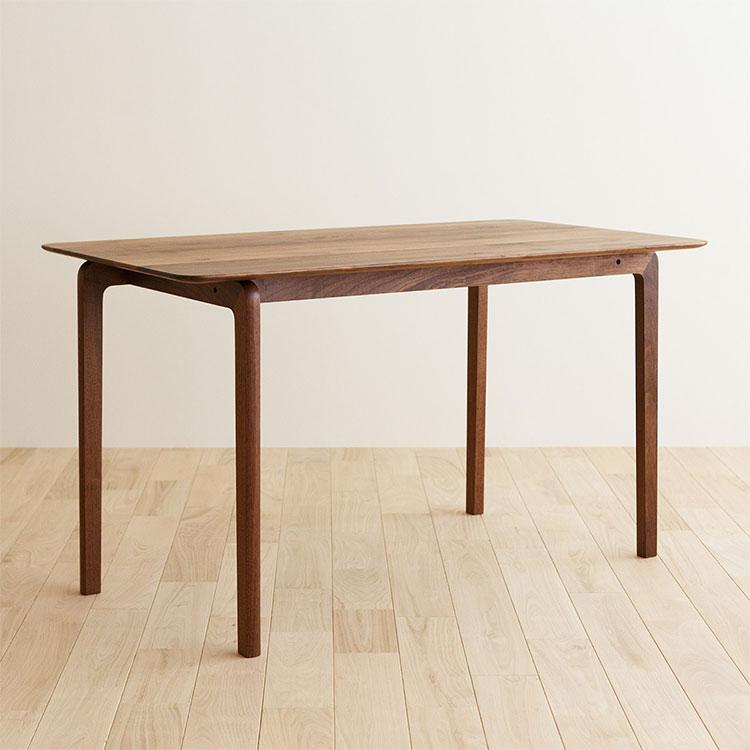 【伝統工芸株式会社】LISCIO Dining Table 126*70 テーブル ダイニングテーブル 木目 オーク ウォールナット チェリー 新生活