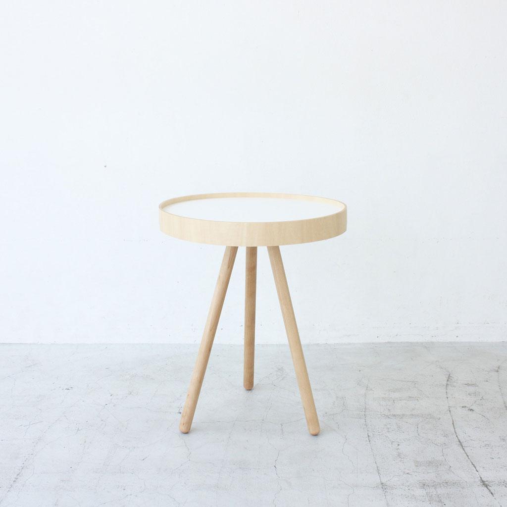 【最大2,000円クーポン】★【MOHEIM】 BY TRAY TABLE (ホワイト) サイドテーブル トレー