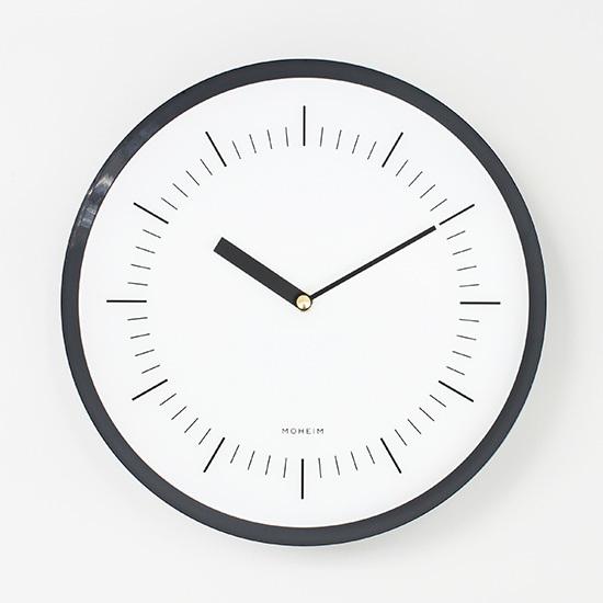 HORN NAVY MOHEIM ホルン 時計 スチール 壁掛け時計 ウォールクロック