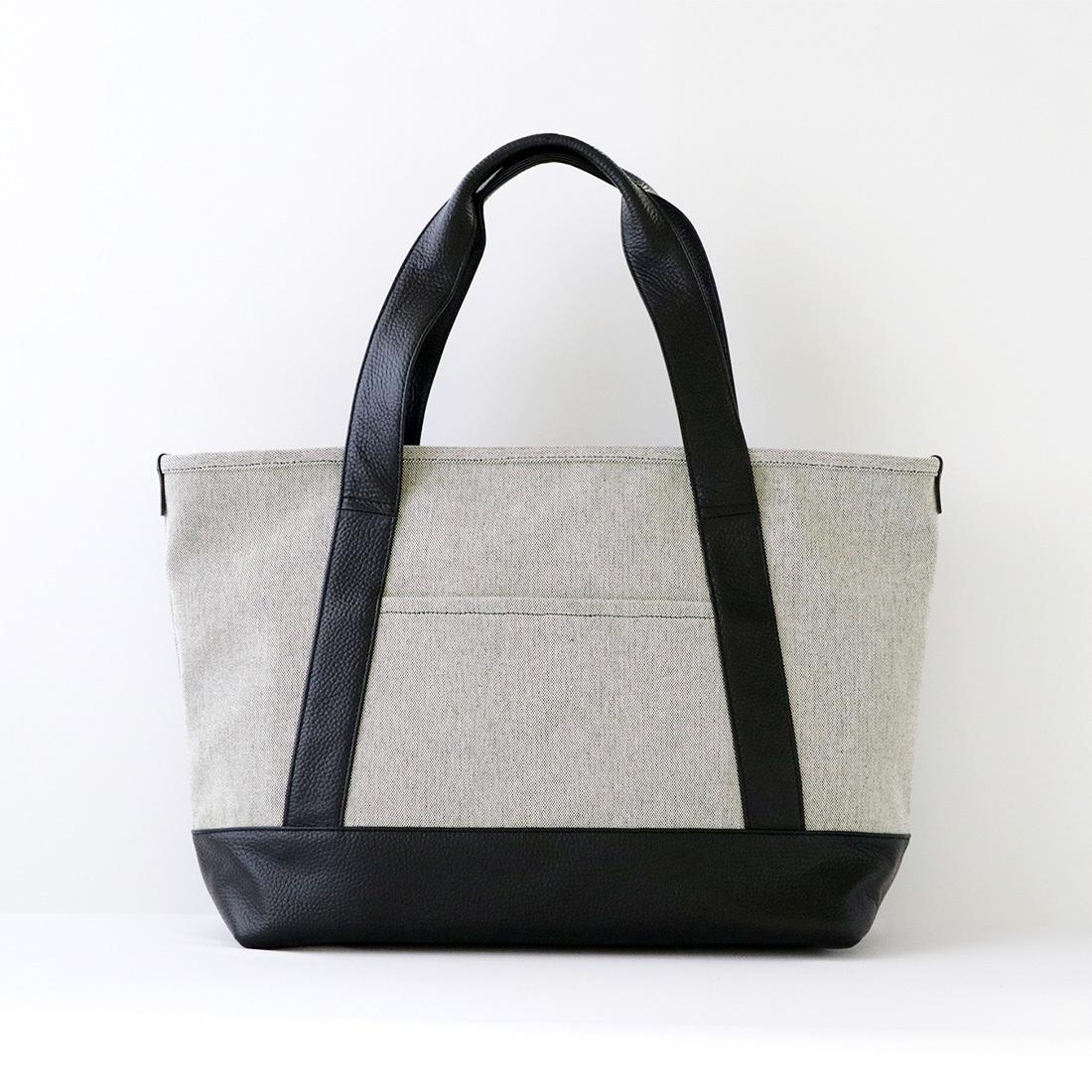 【最大2,000円クーポン】【MOHEIM】 TOTE BAG (Mサイズ / グレイシャンブレー) トートバッグ カバン 鞄 バッグ 手提げ 帆布 ユニセックス
