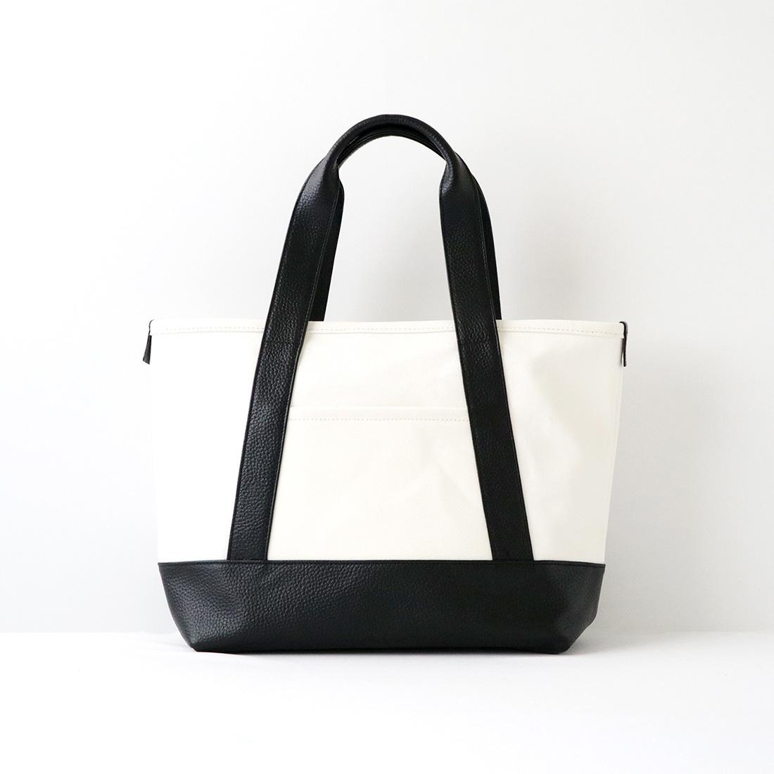 【最大2,000円OFFクーポン】【MOHEIM】 TOTE BAG (Sサイズ / ホワイト) トートバッグ カバン 鞄 バッグ 手提げ 帆布 ユニセックス