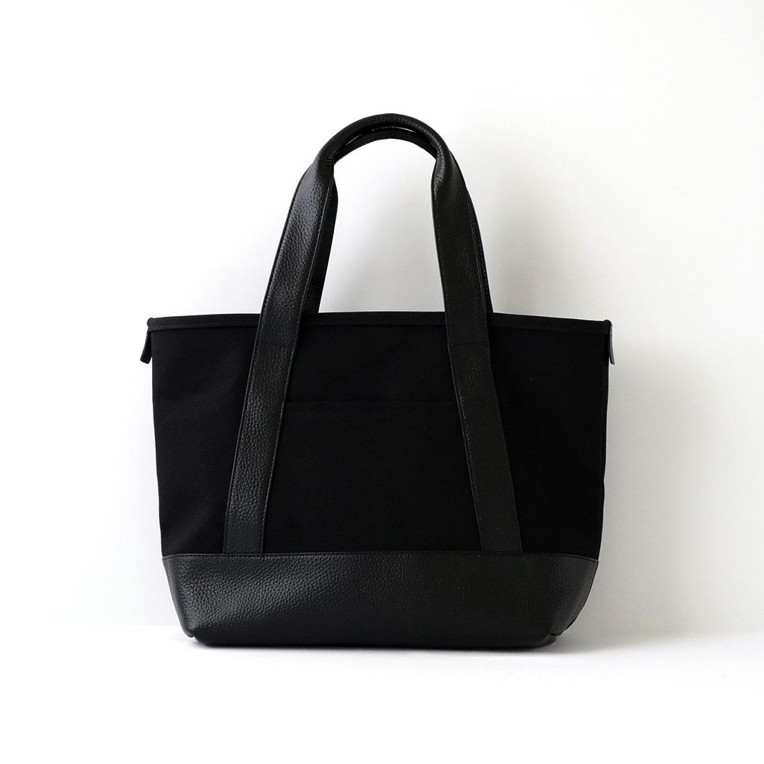 【最大2,000円クーポン】【MOHEIM】 TOTE BAG (Sサイズ / ブラック) トートバッグ カバン 鞄 バッグ 手提げ 帆布 ユニセックス
