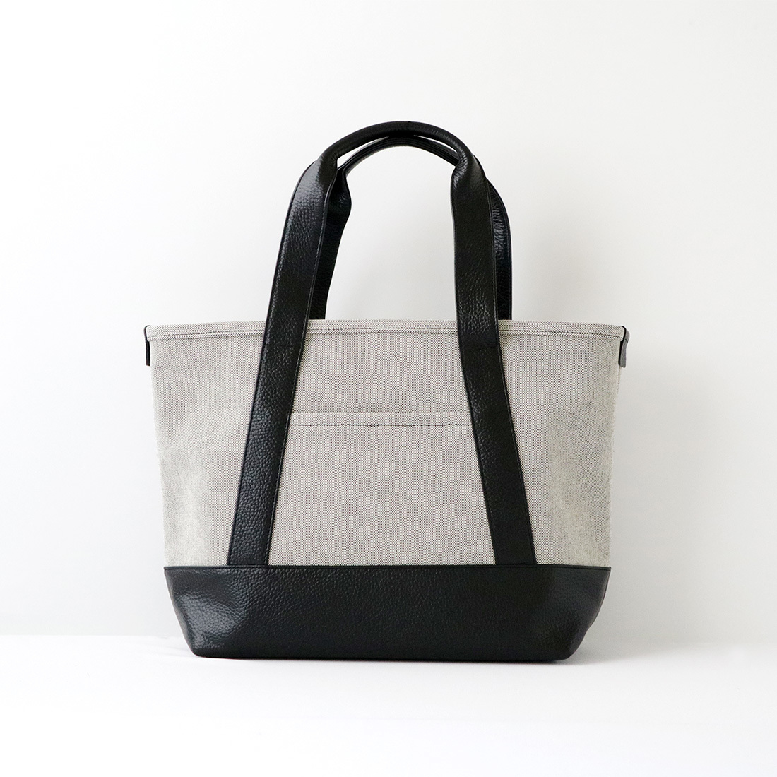 【MOHEIM】 TOTE BAG (Sサイズ / グレイシャンブレー) トートバッグ カバン 鞄 バッグ 手提げ 帆布 ユニセックス