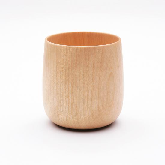【MOHEIM】 YUKI wood  (ナチュラル) コップ カップ 山中漆器 ギフト プレゼント 贈り物