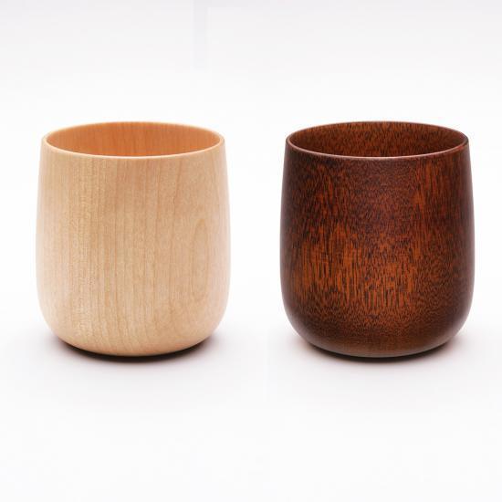 MOHEIM YUKI wood 2個セット商品 コップ カップ 山中漆器 ギフト プレゼント 贈り物