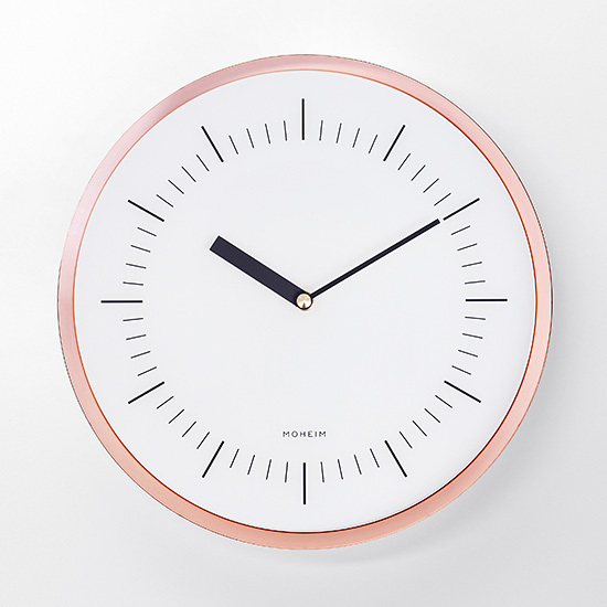 HORN COPPER MOHEIM ホルン 時計 壁掛け時計 ウォールクロック STAYHOME