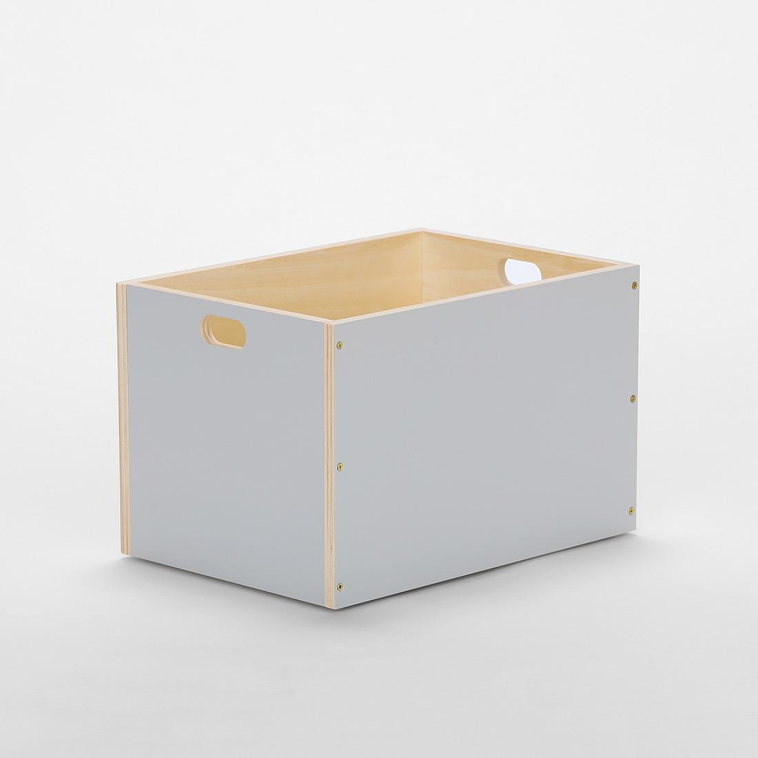【MOHEIM】 LINDEN BOX (Lサイズ/グレイ) モヘイムリンデンボックス 収納 箱★