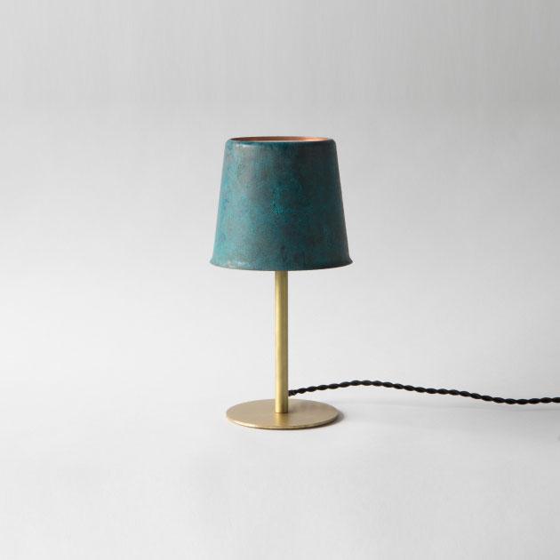 【送料無料】【モメンタムファクトリー・Orii /富山県】table lamp テーブルランプ 青銅