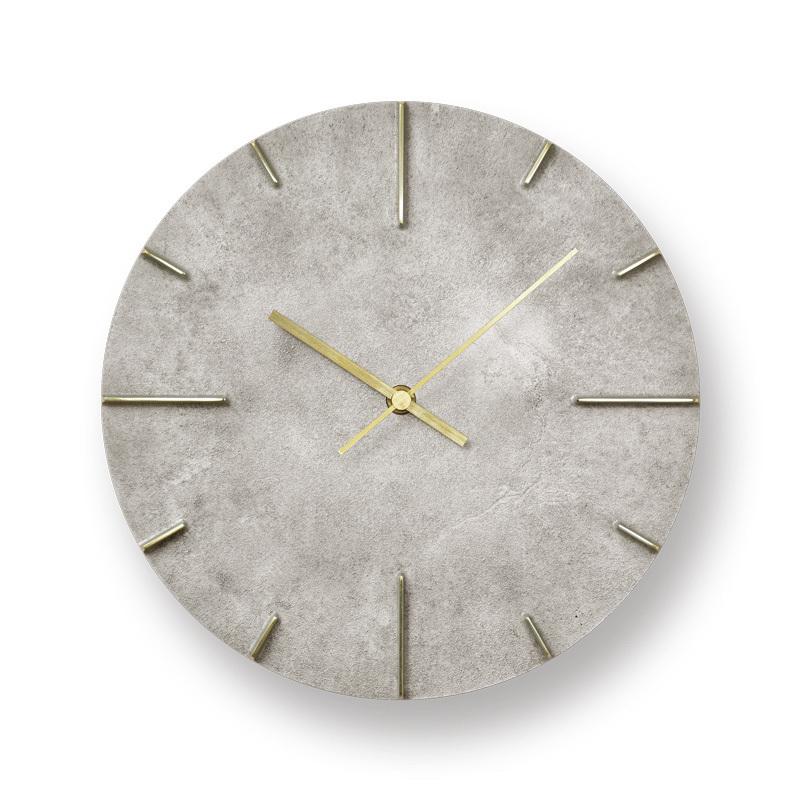 モメンタムファクトリー・OriiLemnos Quaint 斑紋純銀色 クエィント レムノス 時計 掛け時計 壁時計 高岡銅器 ギフト プレゼント 贈り物