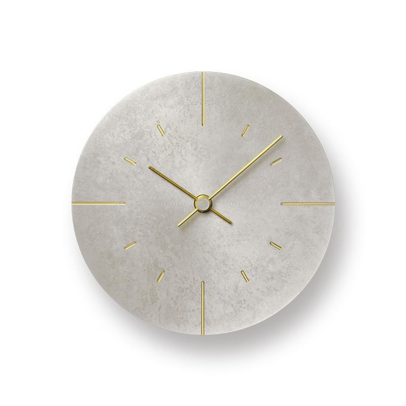 モメンタムファクトリー・OriiLemnos Orb 斑紋純銀色 オーブ レムノス 時計 掛け時計 壁時計 高岡銅器 ギフト プレゼント 贈り物