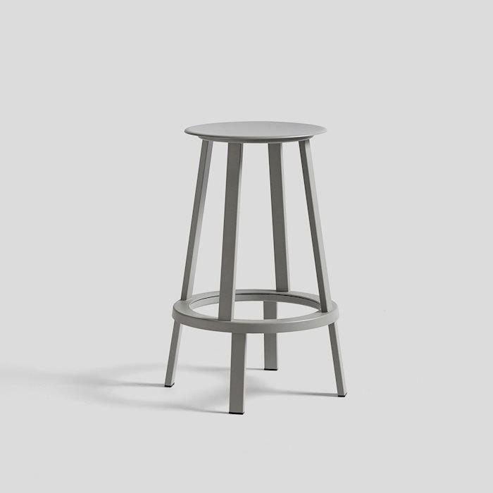 正規品【送料無料】北欧家具 HAY(ヘイ) chair (椅子)REVOLVER BAR STOOL LOW SKY GREY(グレー) リボルバーバースツール
