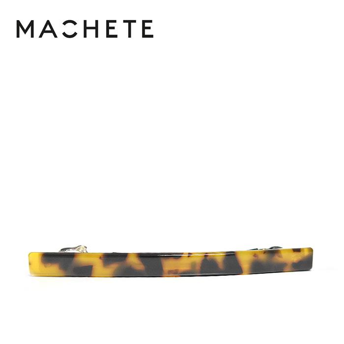 待望の最新作MACHETEマシェットべっ甲 ブラウン ライン 横長 バレッタClassic Tortoiseレディースg6Ybfy7