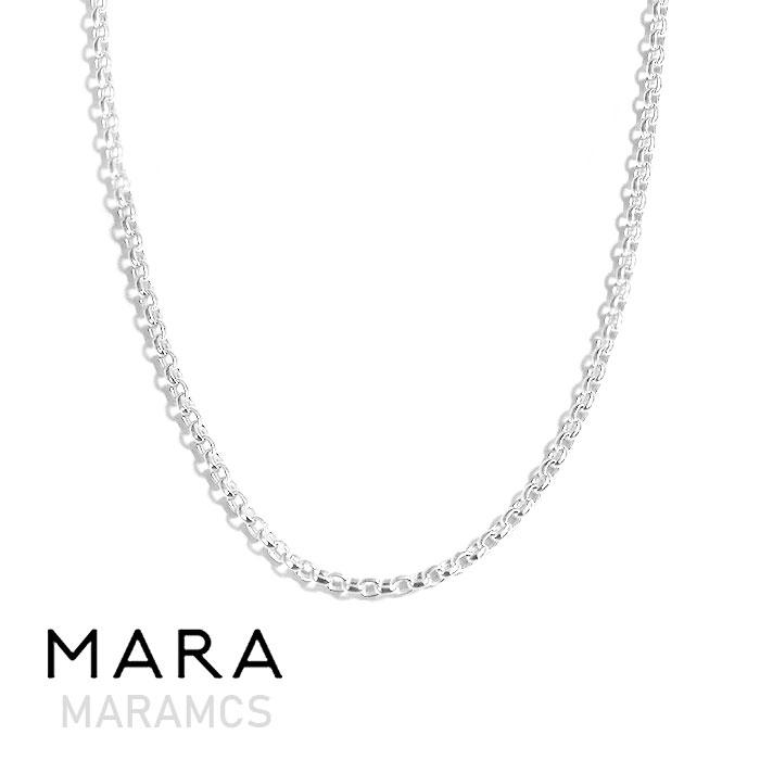 【待望の最新作】≪MARAMCS≫ マラムクスサークル 丸 チェーン シルバー ネックレス SV925 Circle Chain Necklace (Silver)【レディース】