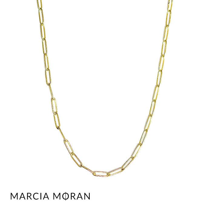 【待望の最新作】≪Marcia Moran≫ マルシア・モラン 長方形 楕円 ゴールド チョーカー ネックレス Gold CHOKER (Gold)【レディース】