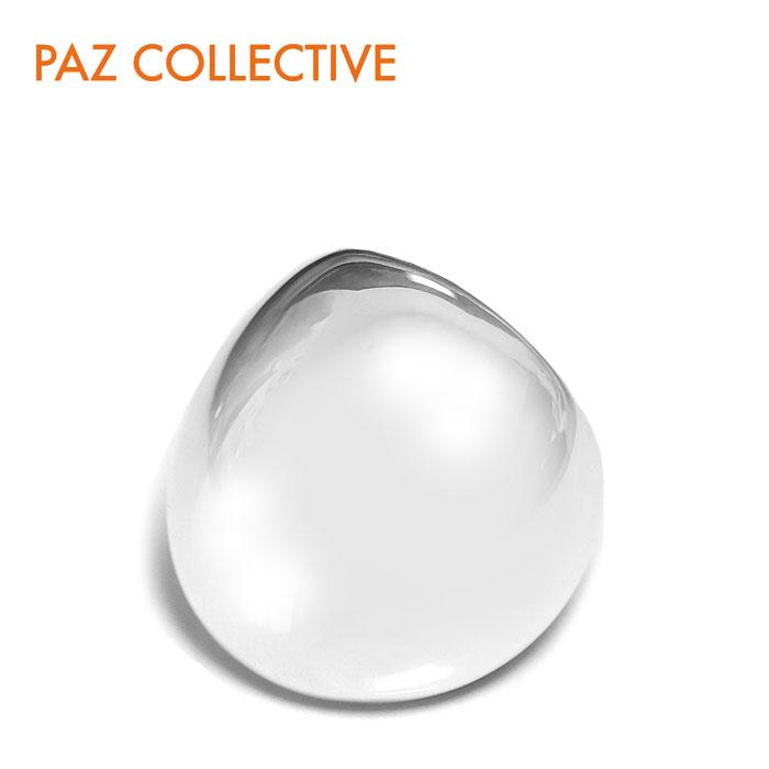 ≪PAZ COLLECTIVE≫ パズコレクティブドーム型 ボリューム リング シルバー Shiny Dome Ring (Silver)【レディース】