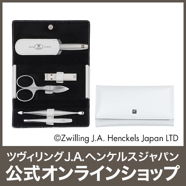【公式】 ZWILLING TWINOX カウハイド ホワイト 5pcsセット (ZWILLING J.A. HENCKELS ツヴィリング J.A. ヘンケルス)