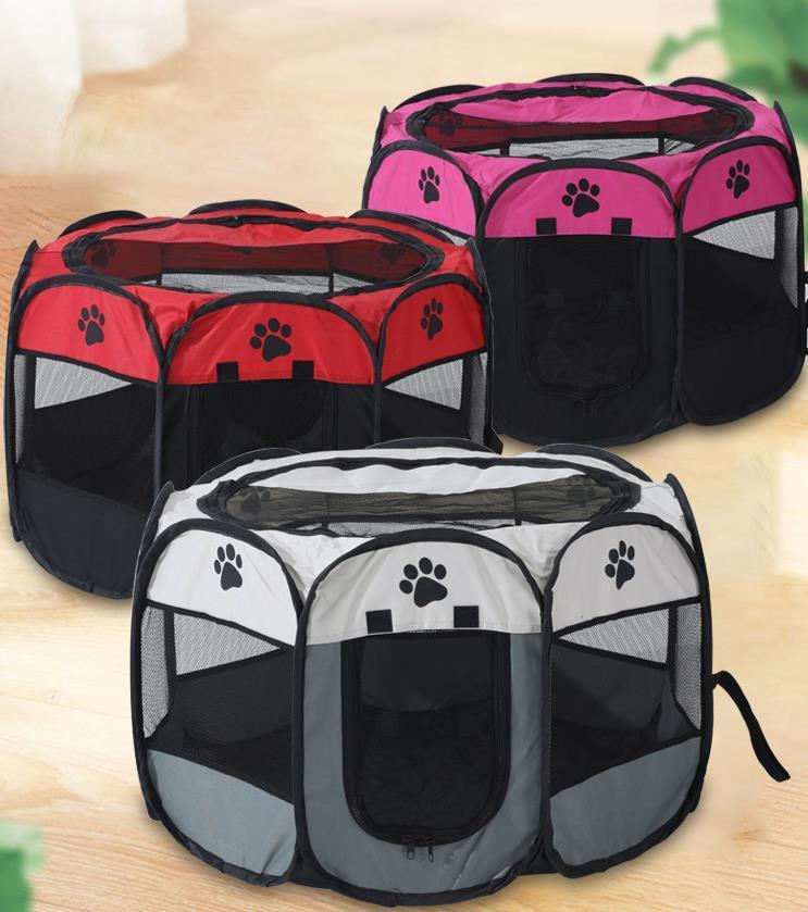子犬プレイペン 猫プレイサークルペットテント ねこハウス ペット出産用品 サークルケージアウトドア コンパクト 送料0円 メッシュサークル 開催中 ペットサークルSサイズ 犬 猫ケージ八角形 ペットお出かけ用品 ペットフェンス 折りたたみ