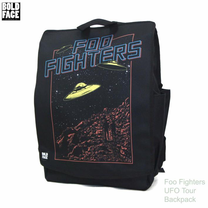 【負担1,200円OFFクーポン】送料無料ボードフェイス UFO バックパックBOLD FACE Foo Fighters UFO Tour Backpack