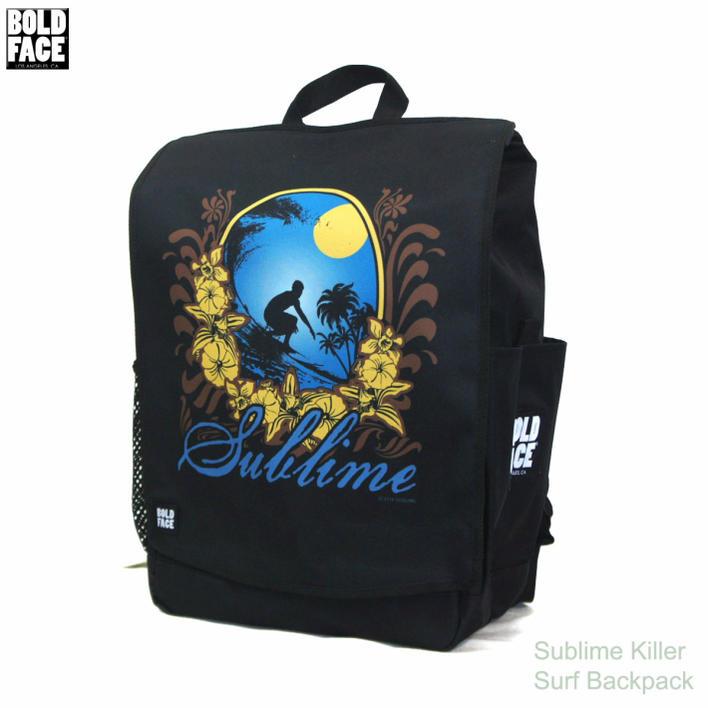 .BOLD FACE Sublime Killer Surf Backpack ボードフェイス サーファー バックパックBOLD FACE Sublime Killer Surf Backpack