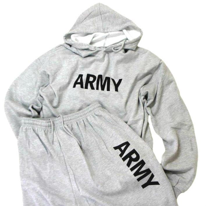 .ロスコ ROTHCO ARMY Hooded Sweatshirt SETUP アーミーコマンダー スウェットパーカー プラス パンツロスコ ROTHCO ARMY Hooded Sweatshirt SETUP